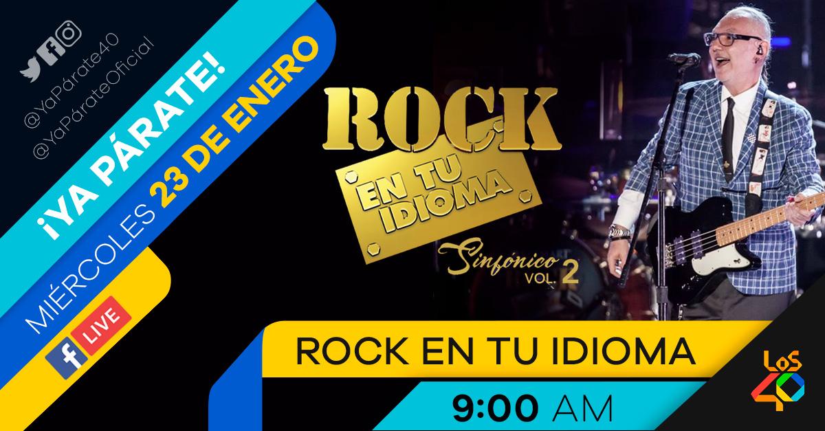 Es un Clásico con Rock en tu Idioma Sinfónico