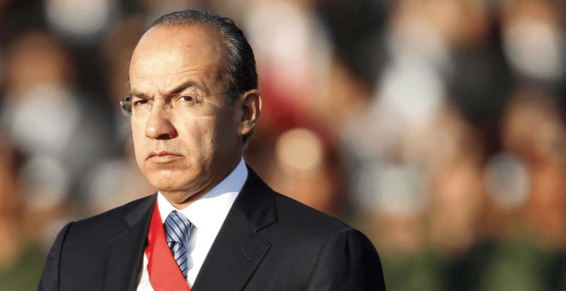 Felipe Calderón habla de su alcoholismo