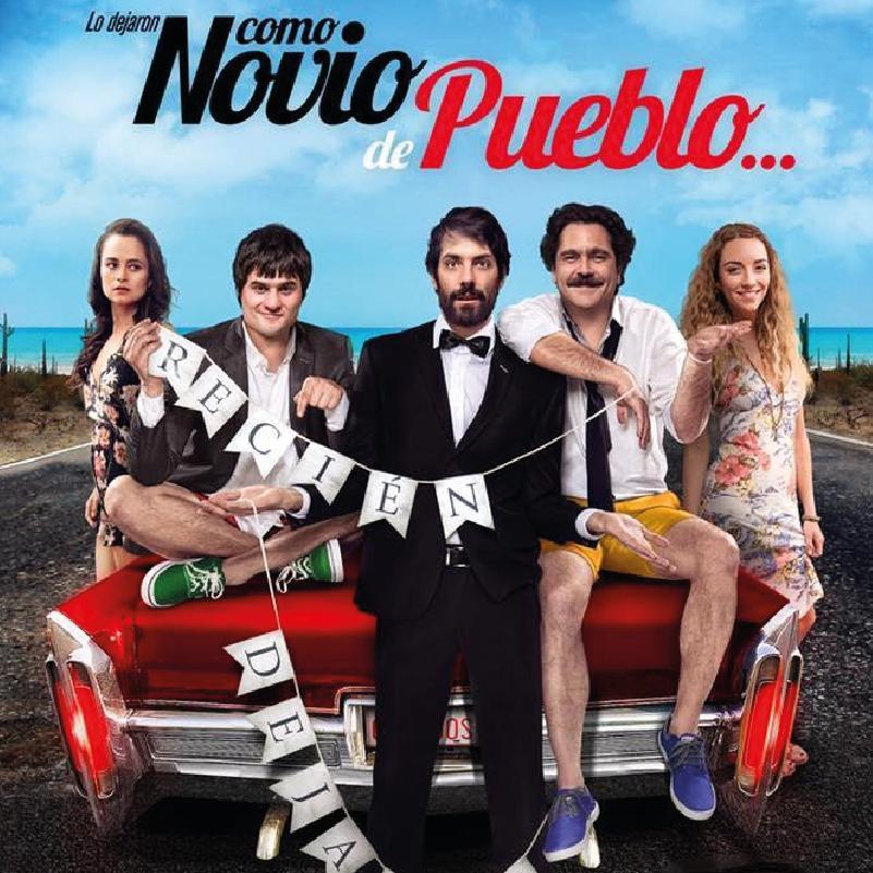 """¡En cabina el elenco de """"Como novio de pueblo""""!"""