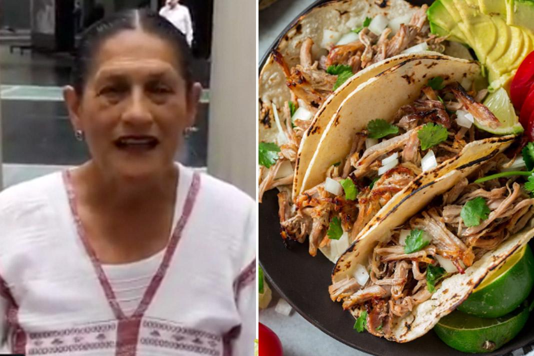 Jesusa Rodríguez nos da clases de gastronomía