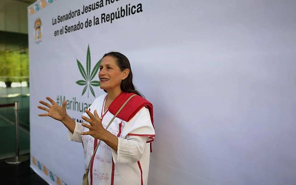 """La marihuana no es una droga"": Jesusa Rodríguez"